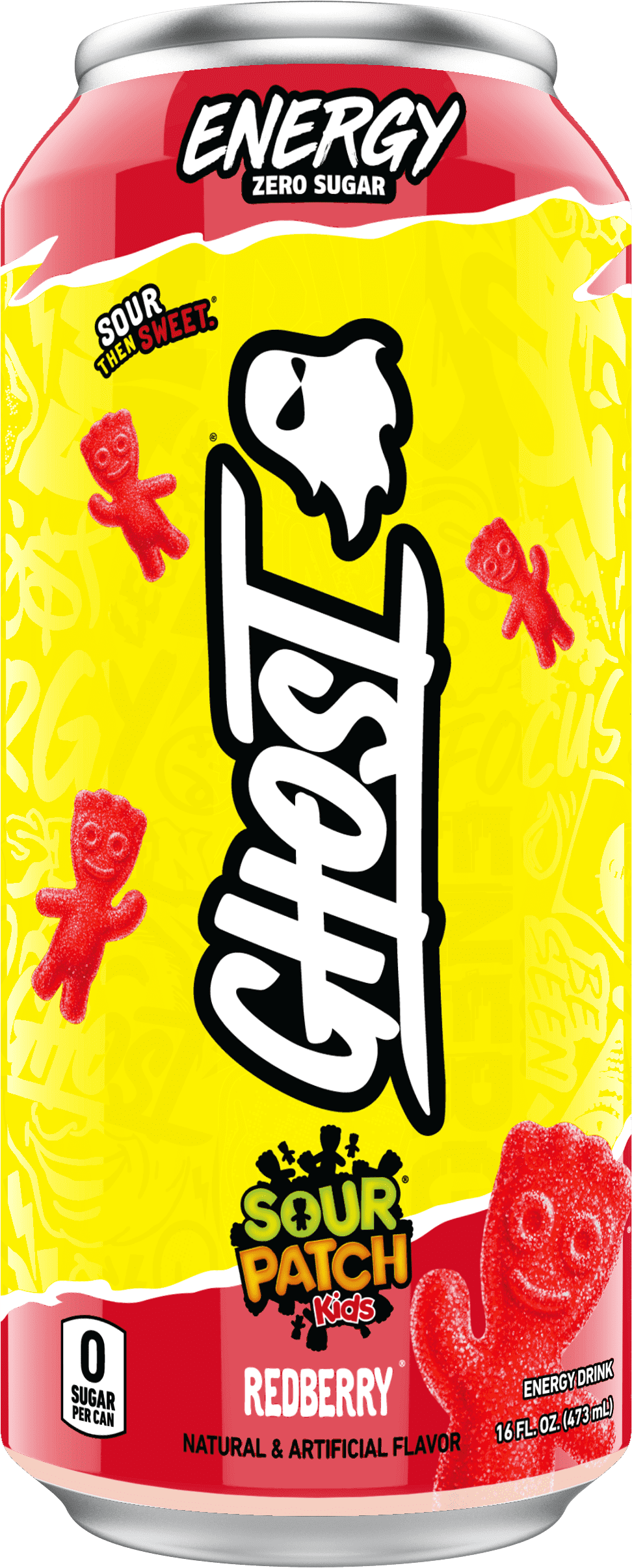 ghost energy sour patch kids redberry